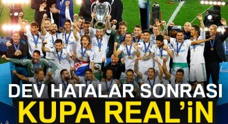 Dev kupa Real Madrid'in